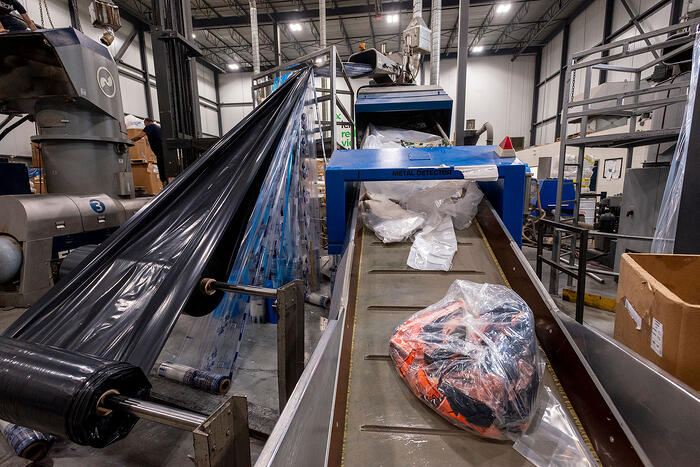 Plastic Waste Recycling Best Practices Example
