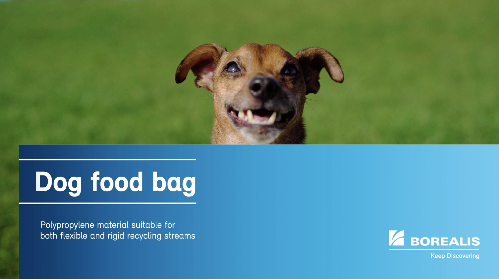 Pet Food Bag Recycling Example