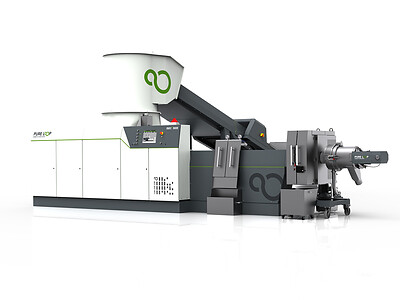 Post Industrial Recycling Machine