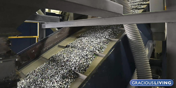 Raw Material for Making Products from Recycled Plastic
