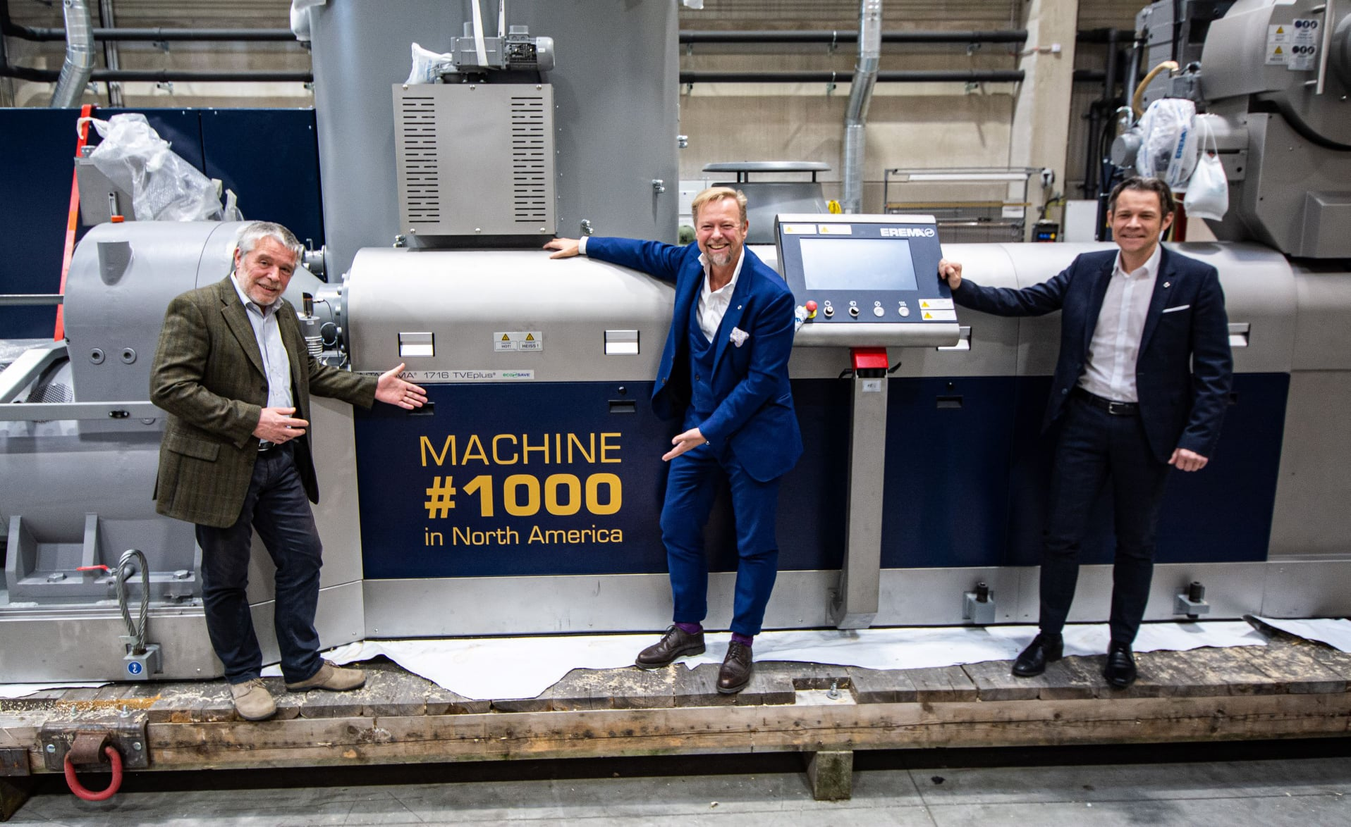 EREMA North America Provides 1,000th Machine to Help PreZero with Waste Diversion