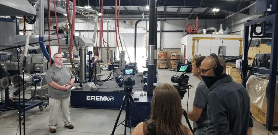 EREMA Technology to be Featured in Laurence Fishburne TV Series Documementary
